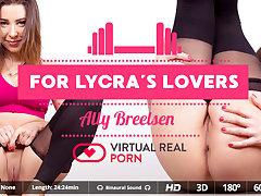 Ally Breelsen in For lycra's lovers - VirtualRealPorn