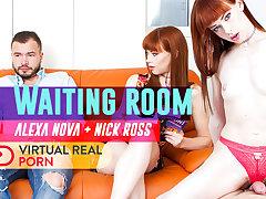 Adam Black  Alexa Nova in Waiting Room - VirtualRealPorn
