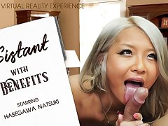 Hasegawa Natsuki in ASSistant With Benefits - VRBangers