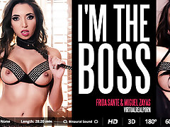 Frida Sante  Miguel Zayas in I'm the boss - VirtualRealPorn