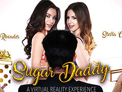 Sugar Daddy featuring Lana Rhoades and Stella Cox - NaughtyAmericaVR