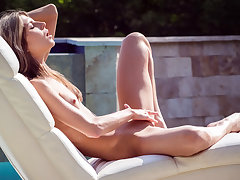 Gina Gerson Plays by the Pool