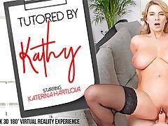 Katerina Hartlova in Tutored by Kathy - VRBangers