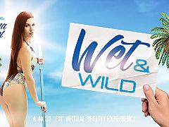 Rihanna Samuel in Wet  Wild - VRBangers