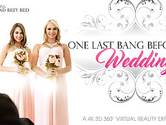 Mia Malkova  Riley Reid in One Last Bang Before The Wedding - VRBangers