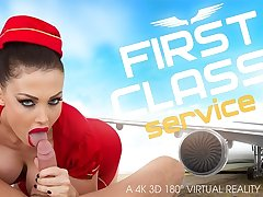 Aletta Ocean in First Class Service - VRBangers