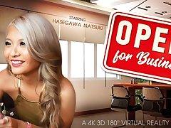 Hasegawa Natsuki in Open 4 Business - VRBangers