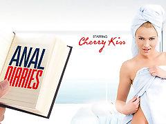 Cherry Kiss in Anal Diaries - VRBangers