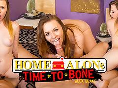 Alex Blake in Home Alone, Time to Bone - WankzVR