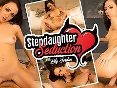 Lily Jordan in Stepdaughter Seduction - WankzVR