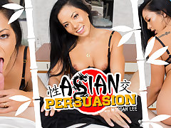 Morgan Lee in Asian Persuasion - WankzVR