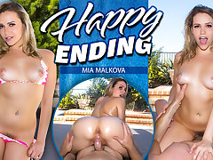 Mia Malkova in Happy Ending - WankzVR