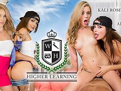Adria Rae  Kali Roses in Higher Learning - WankzVR