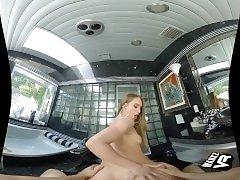 WankzVR - Daisy Stone - Backdoor Bath Time