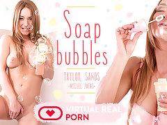 Miguel Zayas  Taylor Sands in Soap bubbles - VirtualRealPorn