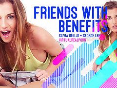 George Lee  Silvia Dellai in Friends with benefits - VirtualRealPorn